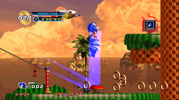 Reseña: Sonic The Hedgehog 4: Episode 1 (2010, Wii)