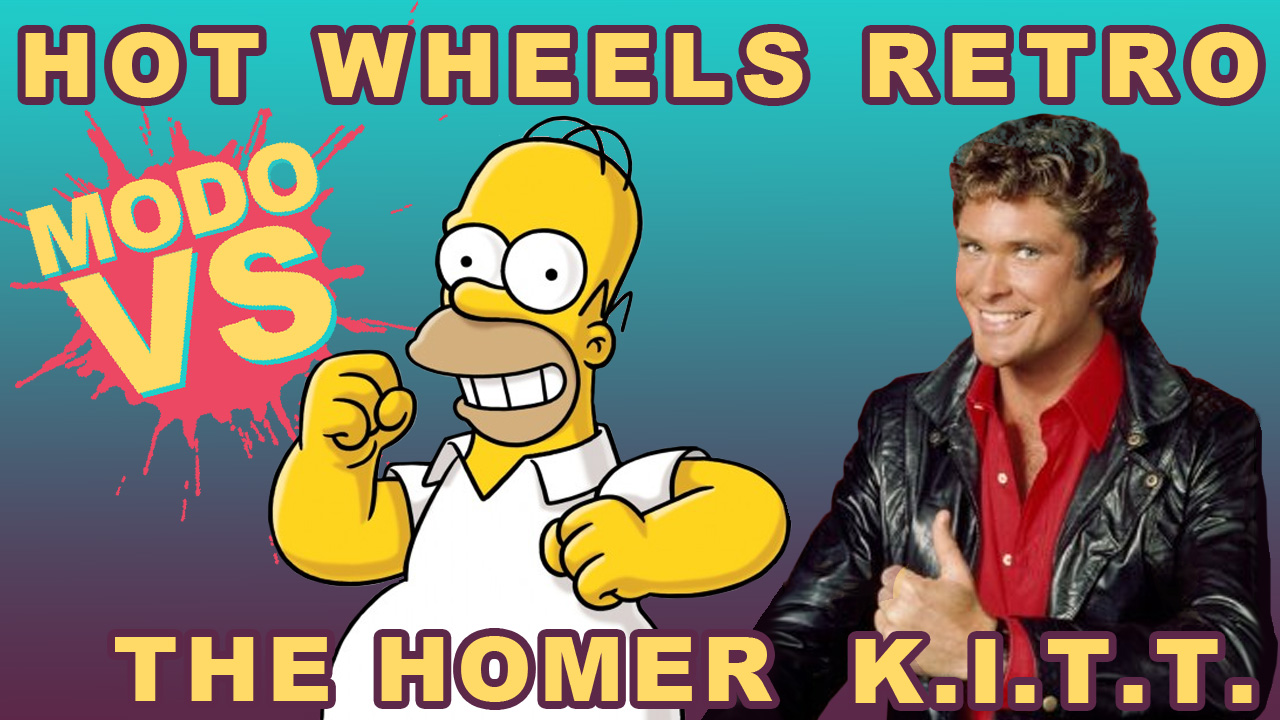 VIDEO: Hot Wheels Retro: Knight Rider y The Simpsons