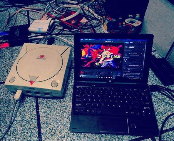 Como capturar video de Sega Dreamcast